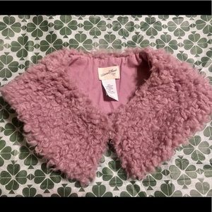 Fabulous faux fur collar from Universal Thread